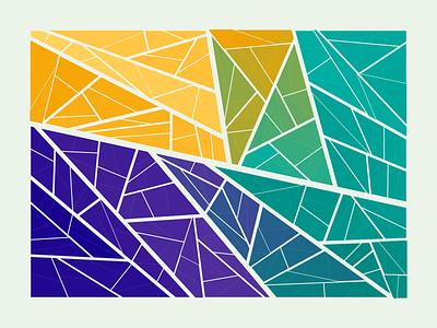 shattered generative graphics generativeart generative art creative coding creativecoding