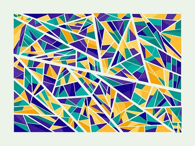 Shattered Random Color shard shards generative graphics generativeart generative art creative coding creativecoding