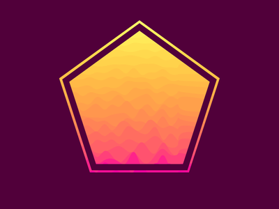 waves and polygons waves generative graphics creative coding generative art