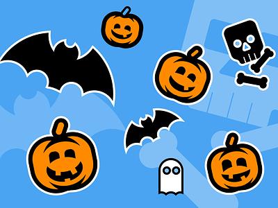 Halloween Stickers halloween icons