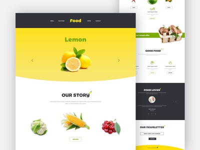 Food Landing Page  organic farm organic nutritionist nutrition health coach food farm environment ecology eco agriculture