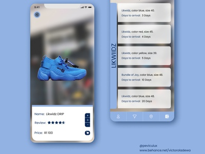 Product design for drip footwear user interface design user inteface interaction prototype product design uxdesign uidesign uiux ux ui