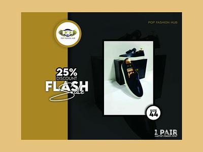 Flash sale design ui logo illustration social media banner graphic flyer design brand identity design branding graphic design