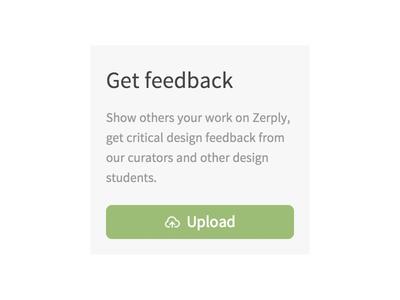 Zerply Feedback zerply feedback call to action widget sidebar