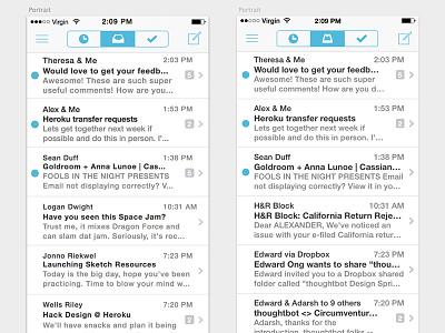 Mailbox Demo Sketch sketch app sketch .sketch mailbox practice
