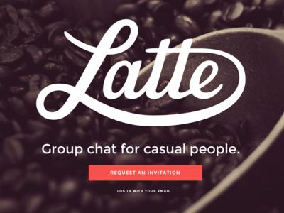 Latte Home montserrat ui button home retina svg logo responsive sean mccabe