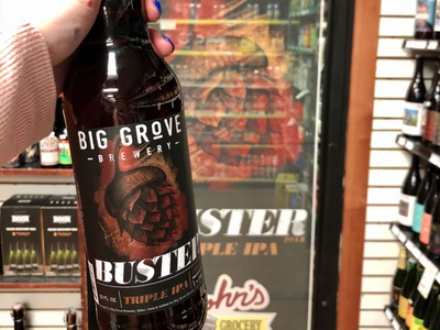 Buster Beer Bottle Label Design beer art beer bottle beer bottle design typography design beer label design beer label beer package design label design beverage design beverage