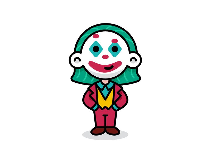 Children Dress like Joker