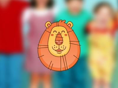 Lion dribbble