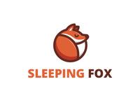Sleeping fox dribbble2