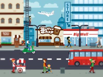 Illustration Town