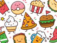 Food Doodle Toolkit