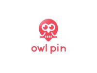 Owl Pin logo design