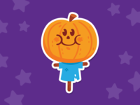 """Scary"" Pumpkin Scarecrow"