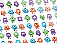Cute Monsters Pattern