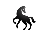 Dark horse Logo Design