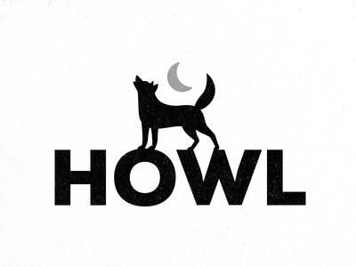 Howl - Wolf Logo Design