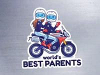 World's Best Parents magnets