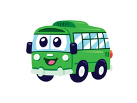Bus Character Design