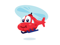 Helicopter Character Design