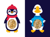 Penguin and Goose Snack Package