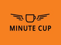 Minute Cup logo design