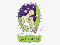 Anya Mati illustrated logo