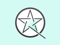 Rick Vise Qi Gong logo mark