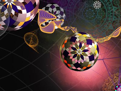 Geometric shapes flow shapes illustrator geometry