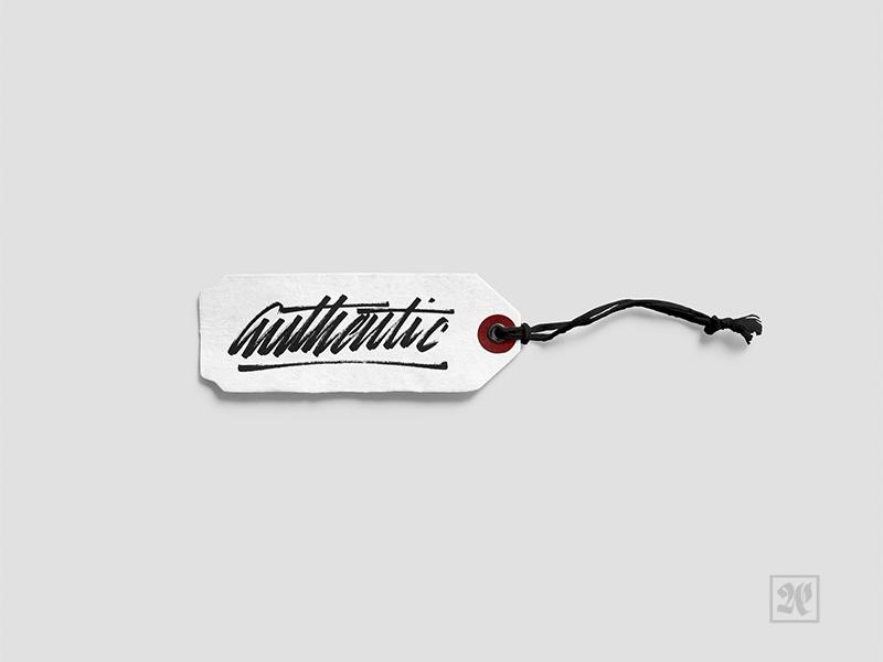 Authentic tag