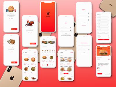 Food ordering app - ux ui design ux ui adobexd app mobile ui xd design design