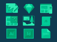 Digital Design Material Icons