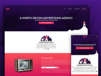 A Spaced Advertising Agency Website