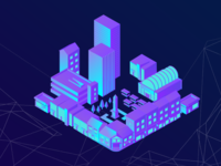 Isometric Town Centre
