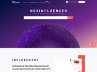 Noxinfluencer Web Design