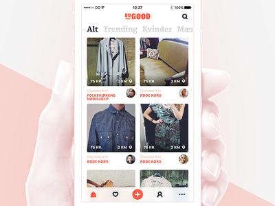 DoGood App design