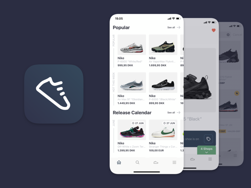 All Pairs – Sneaker shopping made easy assistant mobile app shoe shop sneakerhead sneaker