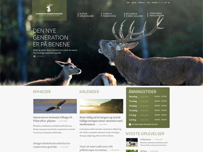 Krondyrcenter Web design