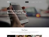Indeba website desktop