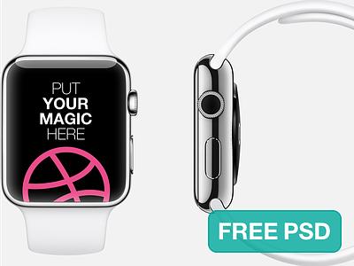 Apple Watch Free Template apple watch template mockup psd download
