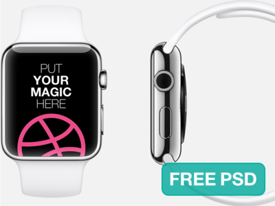 Apple Watch Free Template apple watch template mockup psd download