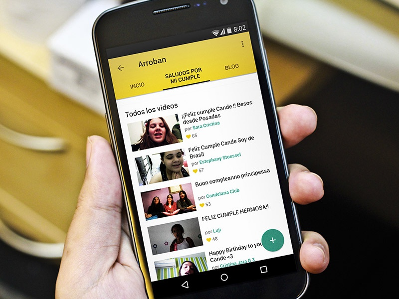 FWTV Material Redesign 2 design android material ui ux