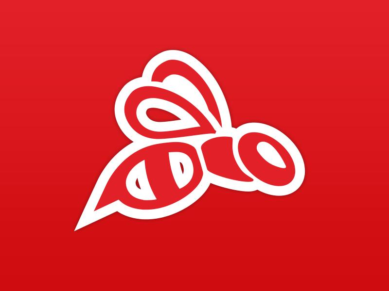 Redbee Logo design redbee logo