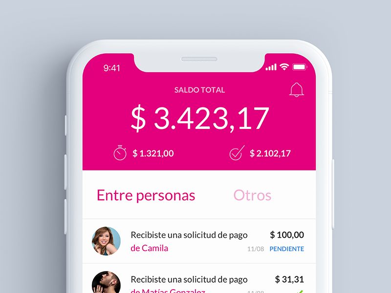 Todo Pago - Concept home mobile ios design ui ux
