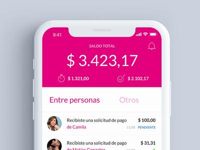 Todo Pago - Concept home mobile ios design ui ux