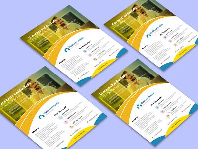 Corporate Business Flyer khan-hossain flayer design ui branding design flyer flayer event flyer brochure design graphic design