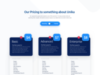 Unika.ai - Pricing Table