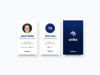 Unika - Business Cards
