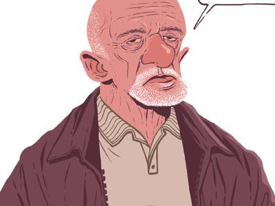 Mike tvseries pinkman jesse mr.white heisenberg mike bad breaking