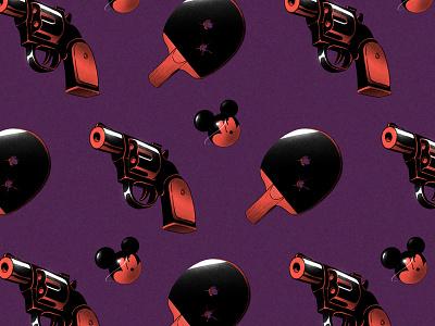 Thriller Remake mikkalinin kalininbrat styleframe noir illustration animation thriller